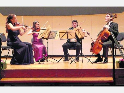 Das Minetti-Quartett begeisterte die Rotenburger Musikfreunde mit Werken aus der Wiener Schule. ·