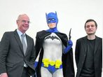 """Batman"" im Parlament"