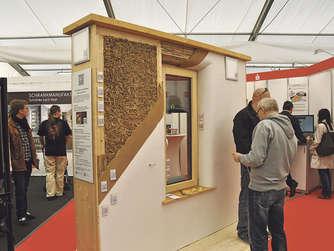 europas h chstes strohballenhaus entsteht in verden wohnen. Black Bedroom Furniture Sets. Home Design Ideas