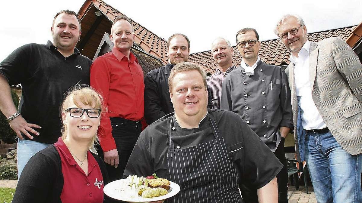 Gastronomen präsentieren Rahdener Spargelteller der Saison / Am ...