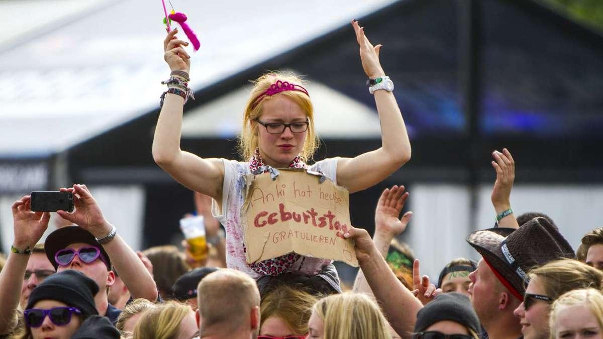 Festival Schilder