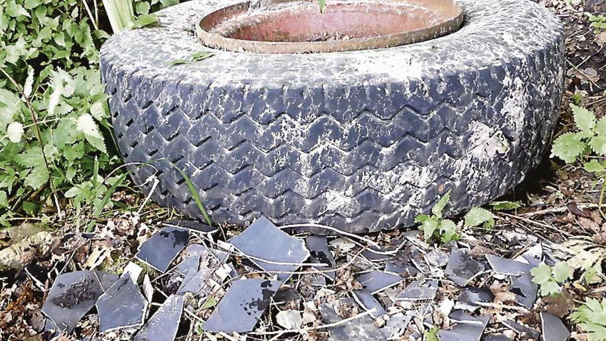 gefahr von asbest wird verkannt ordnungsgem e entsorgung an der hunte wildeshausen. Black Bedroom Furniture Sets. Home Design Ideas