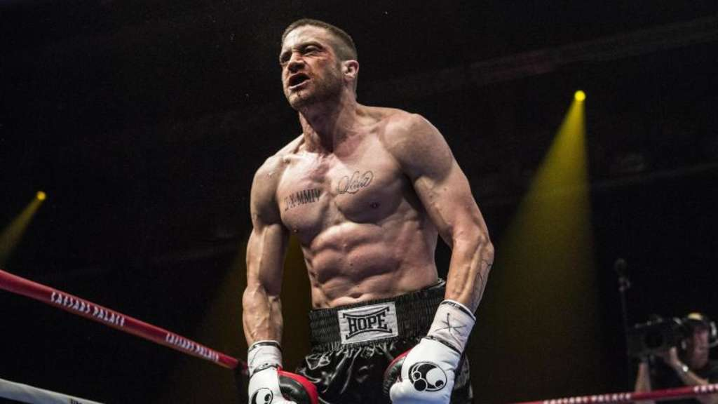 Jake Gyllenhaal als Boxer. Foto: Scott Garfield / The Weinstein Company / Tobis Film