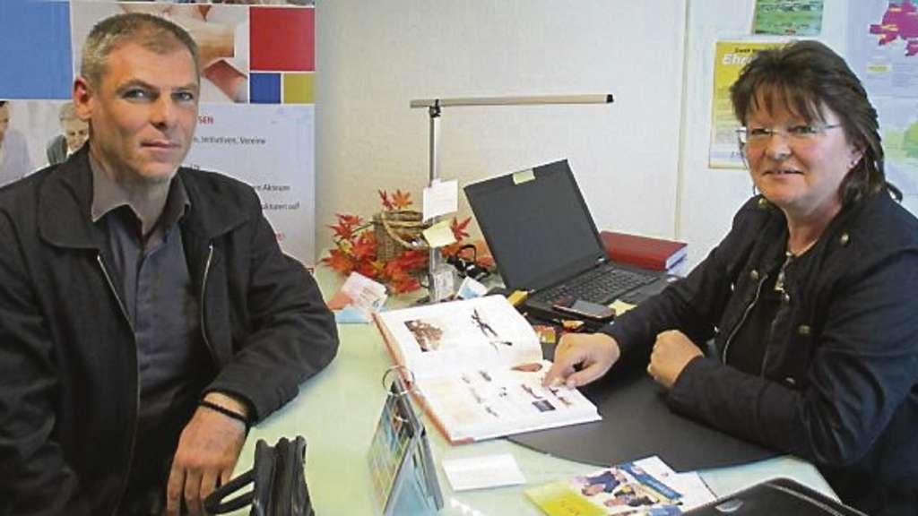 Gerlinde Wozniak im Gespräch mit Milan Lerinc.