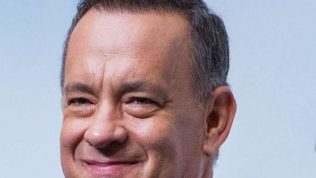 Hollywood-Star Tom Hanks ist einfach ein netter Typ. Foto: Christopher Jue