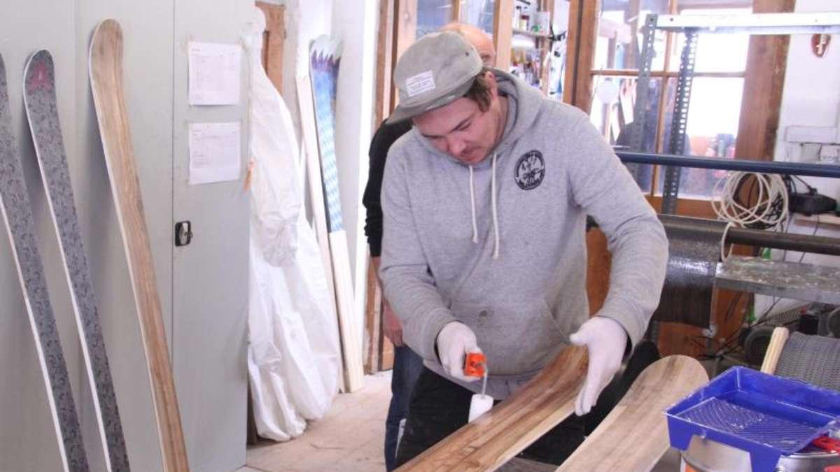 hightech bretter marke eigenbau zum skibauen nach farchant reisen. Black Bedroom Furniture Sets. Home Design Ideas