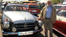 Borgward-World-Meeting an der Waterfront in Gröpelingen