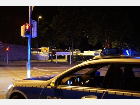 Anruf nach Mitternacht Volksfest nach Bombendrohung geräumt