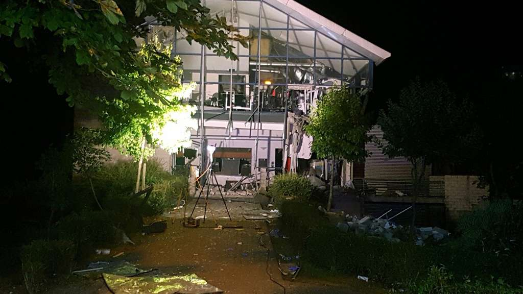 Explosion in Sportzentrum in Chimay