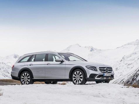 Mercedes EKlasse AllTerrain kommt im März