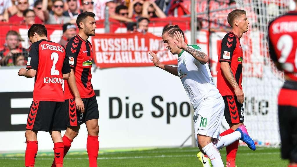 Eiskalte Werder-Elf: Bremen schlägt Frankfurt mit 5:2