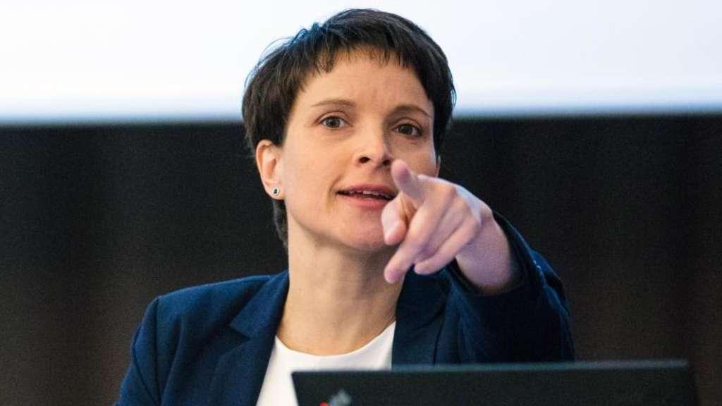 AfD-Chefin Petry verzichtet auf Kandidatur für Bundestagswahl