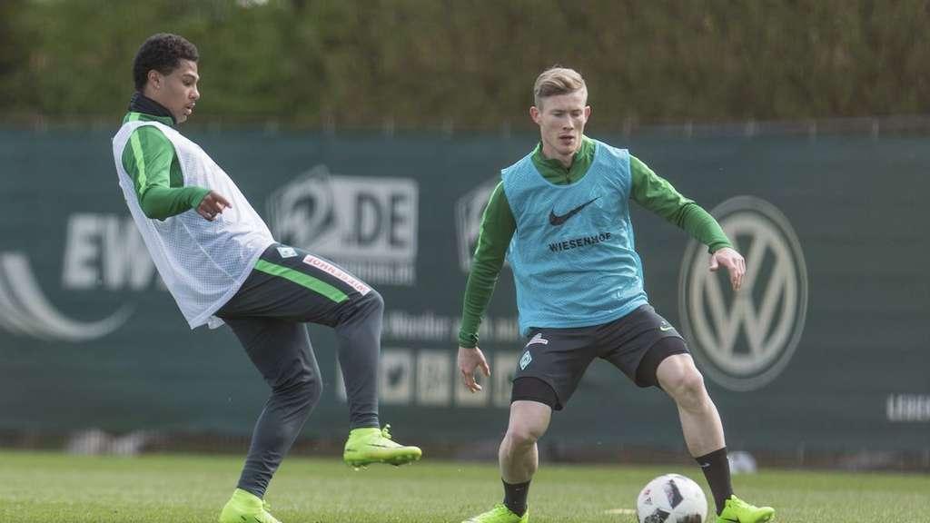 Gnabry spielt nicht mehr für Werder Bremen