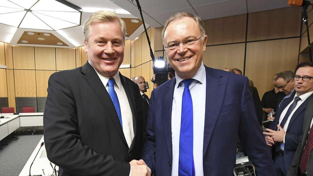 SPD und CDU beginnen Sondierungsgespräch