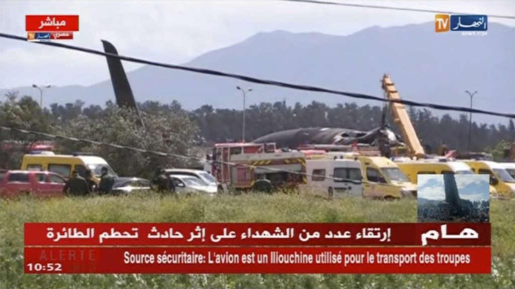 Dutzende Tote bei Absturz von Militärflugzeug