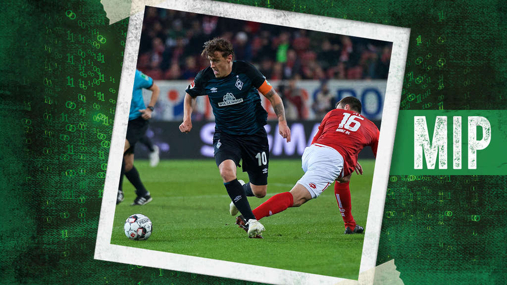 Max Kruse war Werders Most Involved Player gegen Mainz 05.