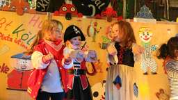 Kinderkarneval in der Heidmarkhalle in Bad Fallingbostel