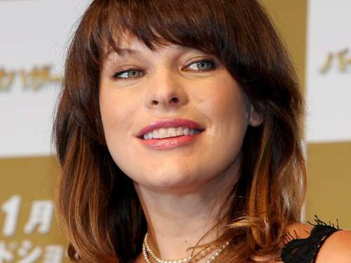 Milla Jovovich heiratet Paul Anderson