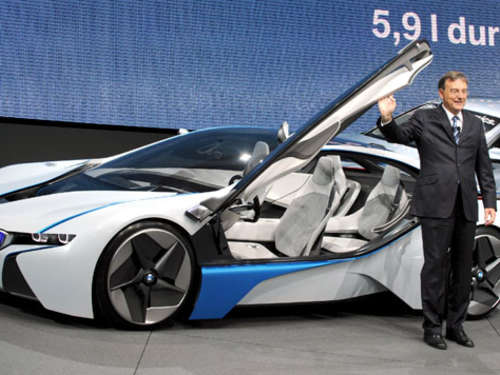 Der neue BMW Vision EfficientDynamics