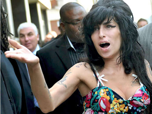 Amy Winehouse: Tattoo auf Tattoo