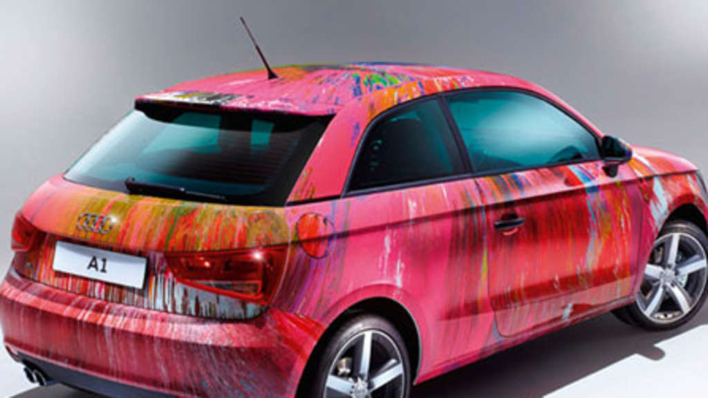 Audi A1 Damien Hirst
