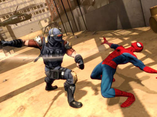 Screenshots aus Spiderman: Dimensions