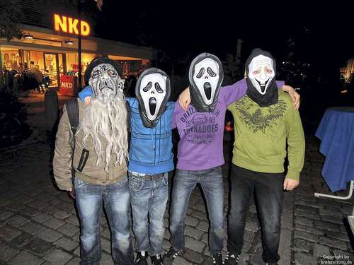 Halloween-Nacht in Twistringen
