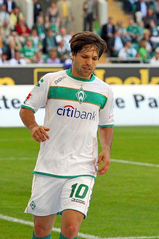 Diego vor Werder-Spiel: Weniger magische Momente   Werder