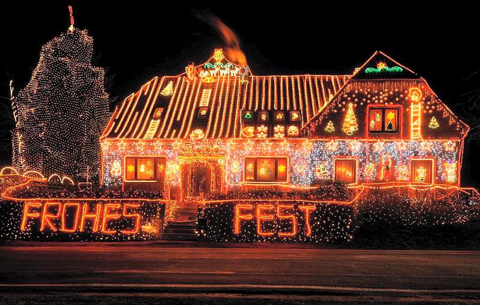 Ab Wann Weihnachtsbeleuchtung.Weihnachtliche Beleuchtung Led Lichter Lösen Alte Ketten Ab
