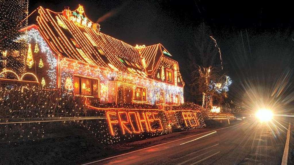 weihnachtliche beleuchtung led lichter l sen alte ketten ab weihnachten. Black Bedroom Furniture Sets. Home Design Ideas