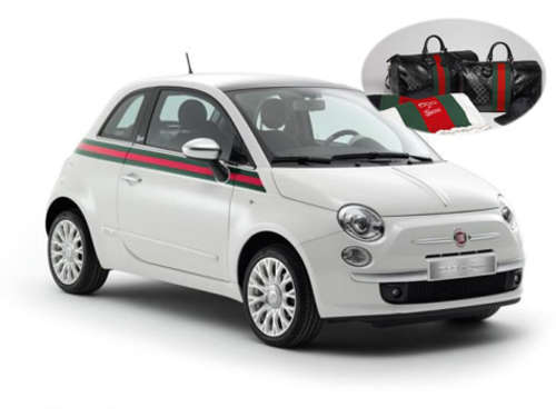 Bella! Fiat 500 im Gucci-Look