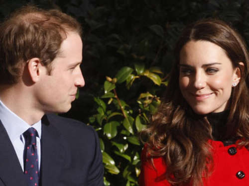 William und Kate gehen online
