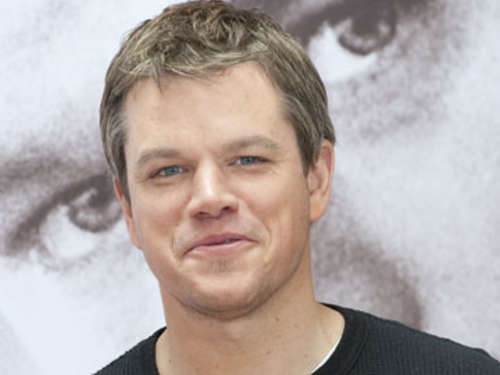 "Matt Damon: ""So küsst Michael Douglas"""