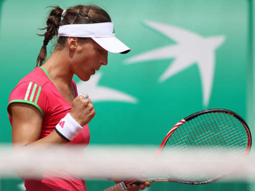 French Open: Petkovic im Achtelfinale