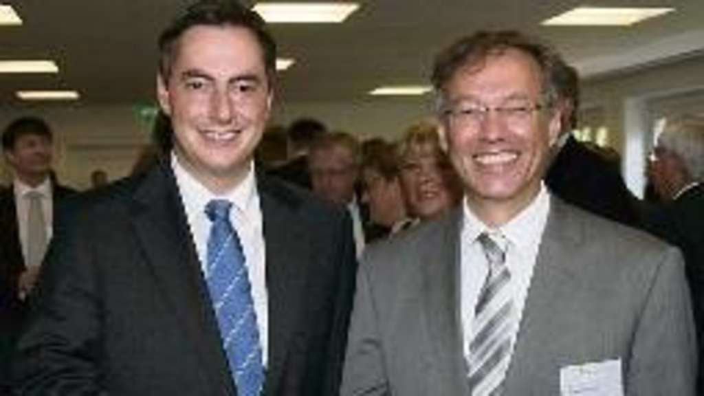 David McAllister (links) und Manfred Ostermann. ·