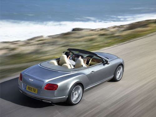 Der neue Bentley Continental GTC