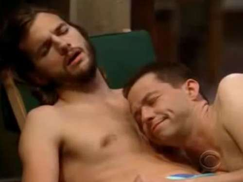 "Nackte Tatsachen bei ""Two and a half Men"""