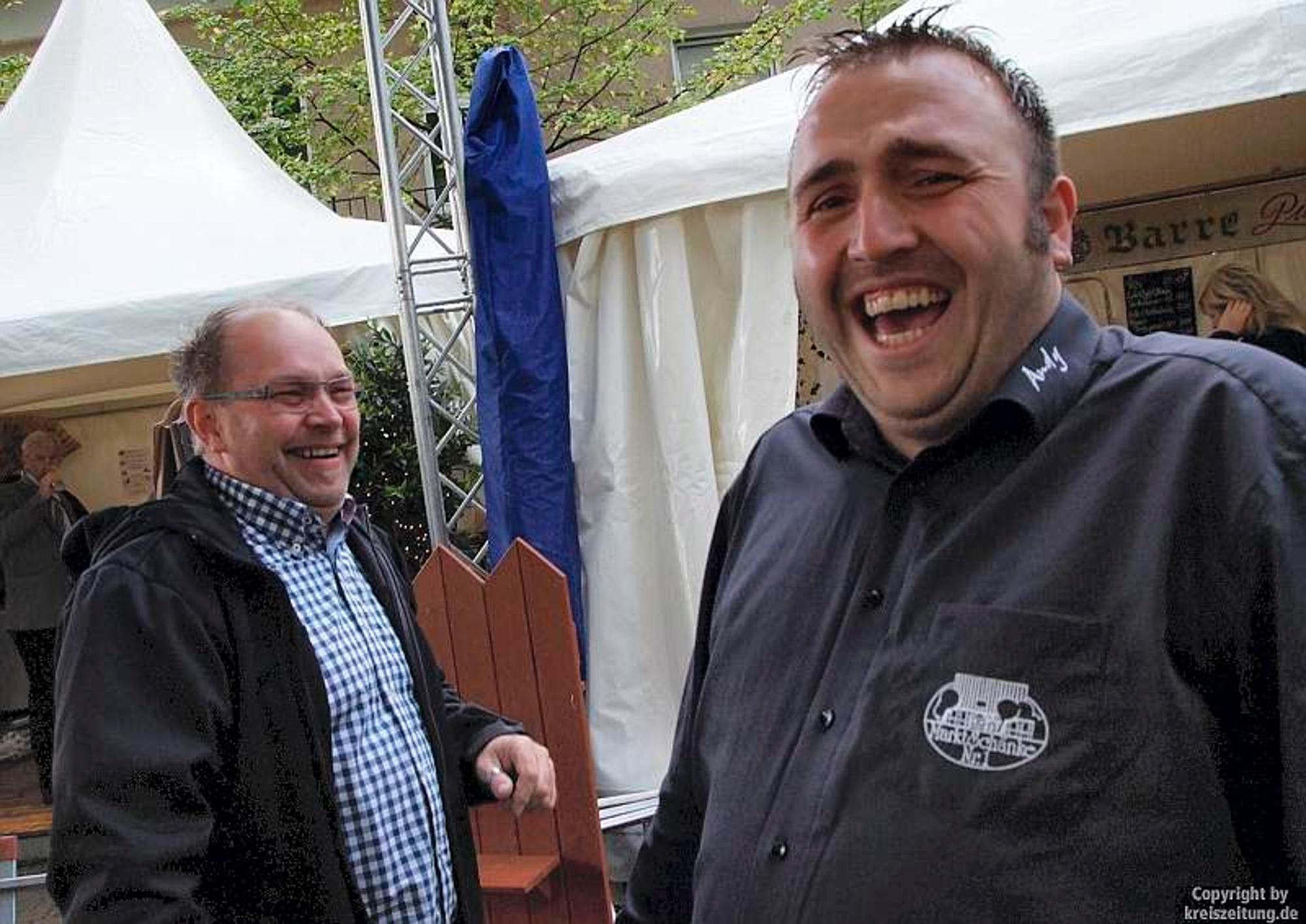 """Rahden kocht über"""" leidet unter Regen und Kälte / Sieben Gastronomen ..."""