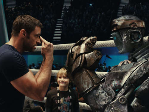 """Real Steel"": Rocky mit Robotern"