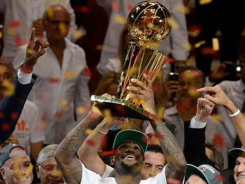 LeBron James am Ziel: NBA-Meister mit Miami