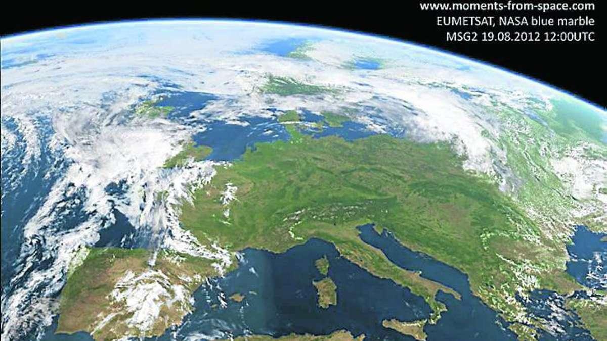 Deutschland Aus Dem Weltall