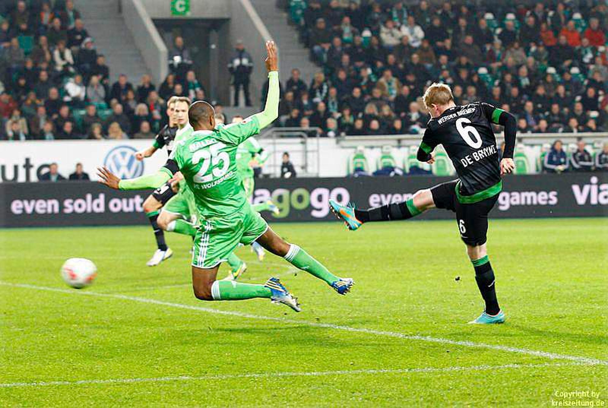 Wolfsburg Werder Bremen