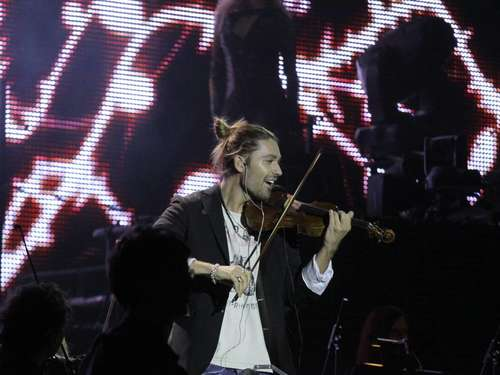 David Garrett in der ÖVB-Arena in Bremen
