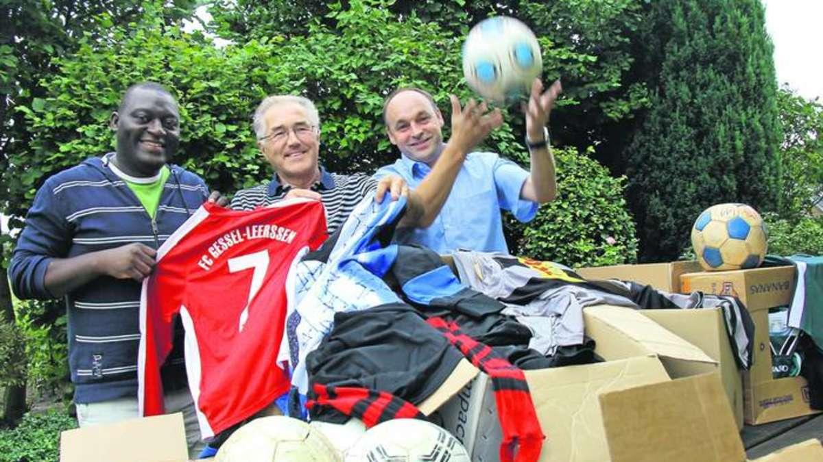 Syke Godestorf Sportvereine Spenden Gebrauchte Fussball