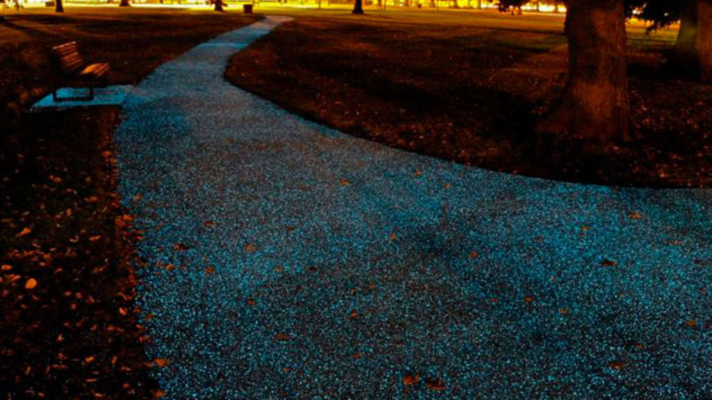 Starpath: World`s first UV powered pathway