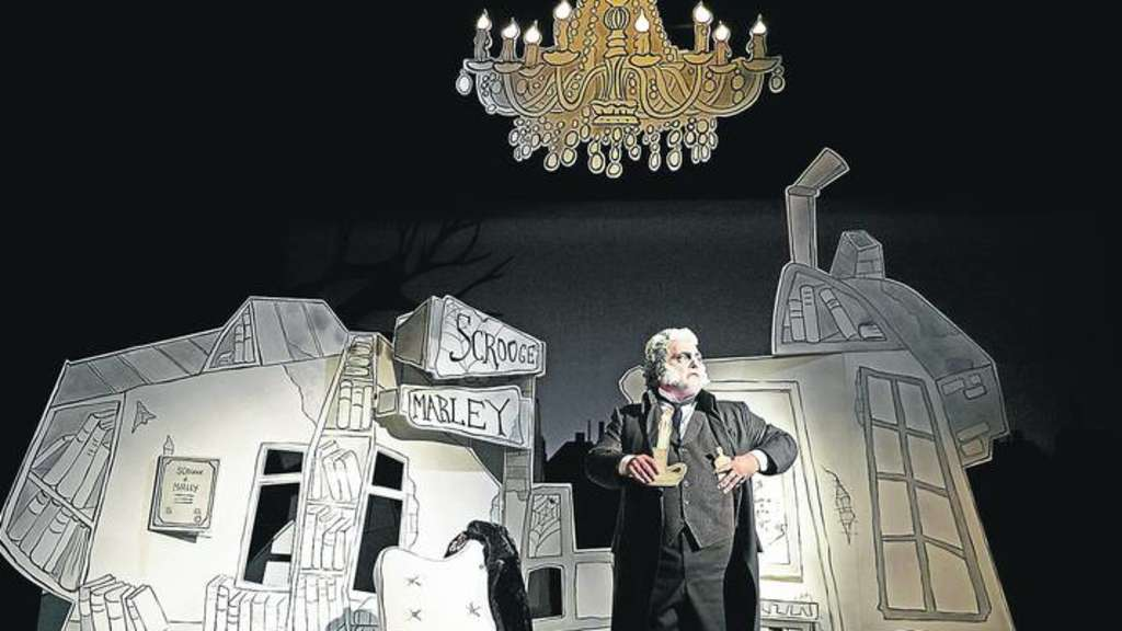 """Die Weihnachten des Mr. Scrooge"""" nach Charles Dickens im ..."""