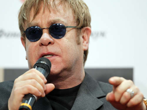 Elton John im November in Hannover