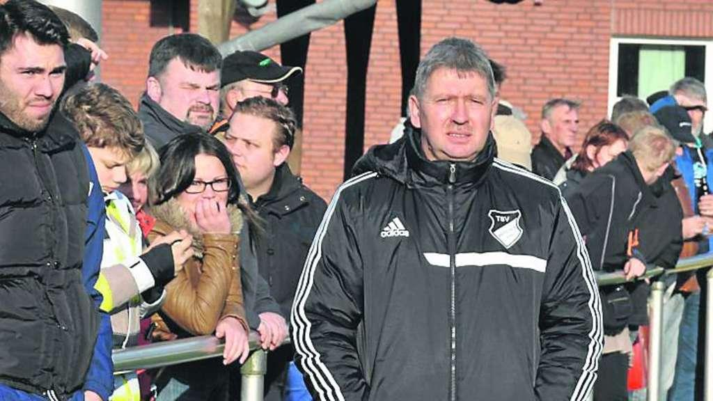 Muss nach nur einer Saison beim Fußball-Bezirksligisten TSV Wetschen bereits wieder gehen: Trainer Stefan Müller. ·