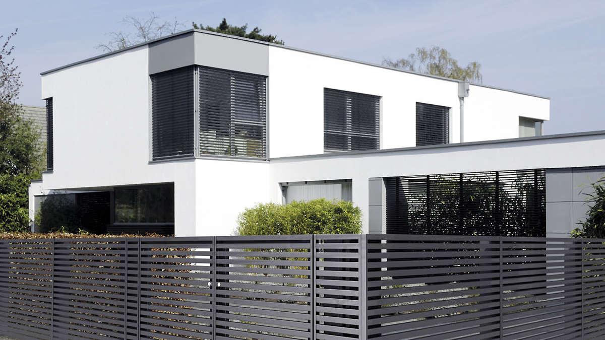 aluminiumz une sind in vielen farben erh ltlich wohnen. Black Bedroom Furniture Sets. Home Design Ideas