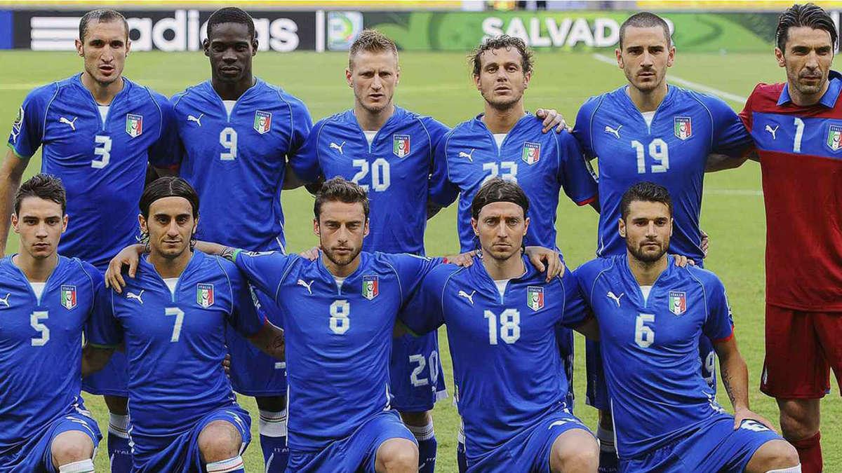 Italien Fussball Wm